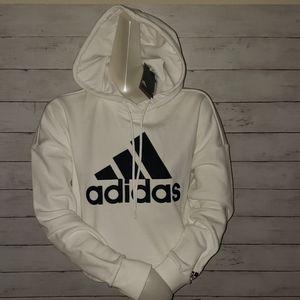 Women's Adidas Crop Hoodie